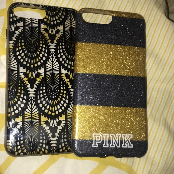 PINK Victoria's Secret Accessories - 2 For one phone cases